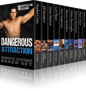 10 Award-winning, bestselling authors – 10 Hot Heroes – 10 Romantic Suspense Page Turners
