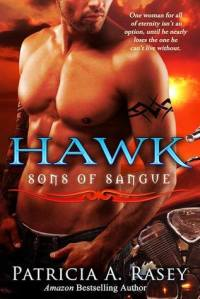 "Kaleb ""Hawk"" Tepes, as president of the Sons of Sangue and descendant of Vlad III, needs to keep his head focused on club business. Trouble is someone wants to divest him of it for a crime he committed against his vampire predecessors. He can't afford distractions, especially those that come in the form of a five-foot-two sprite named Suzi, who once belonged to his nephew. In a moment of weakness, he makes a snap decision that can only spell trouble. Now faced with the one person who wants him dead, Kaleb must make the ultimate sacrifice or chance losing the only woman he truly desired forever. Suzi Stevens has tried hard to put her past behind her and move forward. The one man she yearns for over all others, believes her to be nothing but cold-hearted. Hearing that someone has tried to behead him, she shelves past prejudices and rushes to his side, needing to see for herself that he's all right. What she doesn't count on is Hawk's demand to take her as his personal blood donor. Now forced to endure his company, she fears losing her heart for all eternity to the one person who has the power to crush her."