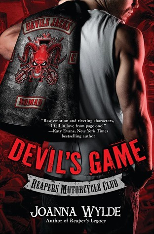 """Liam """"Hunter"""" Blake hates the Reapers MC. Born and raised a Devil's Jack, he knows his duty. He'll defend his club from their oldest enemies-the Reapers-using whatever weapons he can find. But why use force when the Reapers' president has a daughter who's alone and vulnerable? Hunter has wanted her from the minute he saw her, and now he has an excuse to take her. Em has lived her entire life in the shadow of the Reapers. Her overprotective father, Picnic, is the club's president. The last time she had a boyfriend, Picnic shot him. Now the men in her life are far more interested in keeping her daddy happy than showing her a good time. Then she meets a handsome stranger-a man who isn't afraid to treat her like a real woman. One who isn't afraid of her father. His name is Liam, and he's The One. Or so she thinks."""
